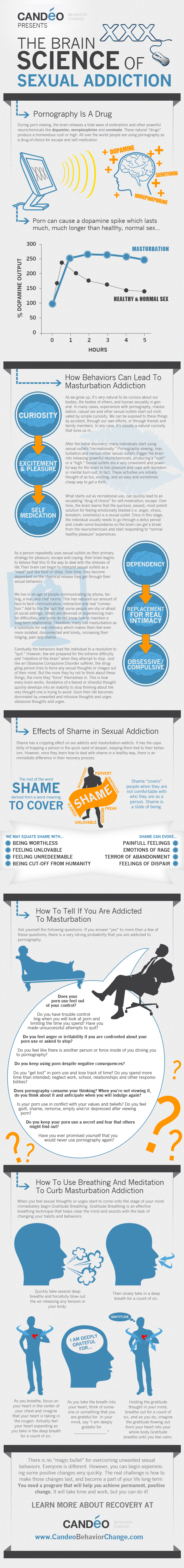 The Science of Sexual Addiction Infographic